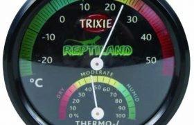 GOttesanbeterin Messgerät für Temperatur und Luftfeuchtigkeit