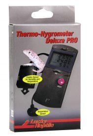 Königspython Thermo- und Hygrometer