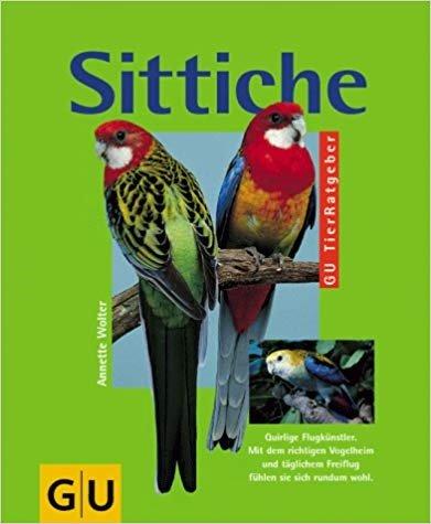 Sonnensittiche Buch, Informationen zur Haltung