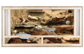 Terrarium Schlangen Holz