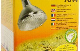 Leguan Metalldampflampe